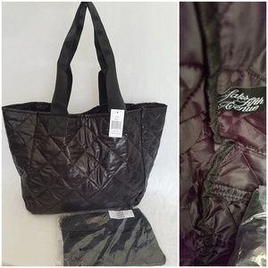 Saks Fifth Avenue Puffer Tote